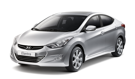 Rental car Hyundai Elantra cheap
